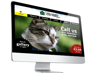 Ash Green Cattery by Glofish Web Design
